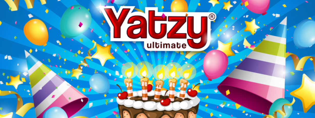 YATZY ULTIMATE CELEBRATES 5 YEARS WITH ITS USERS