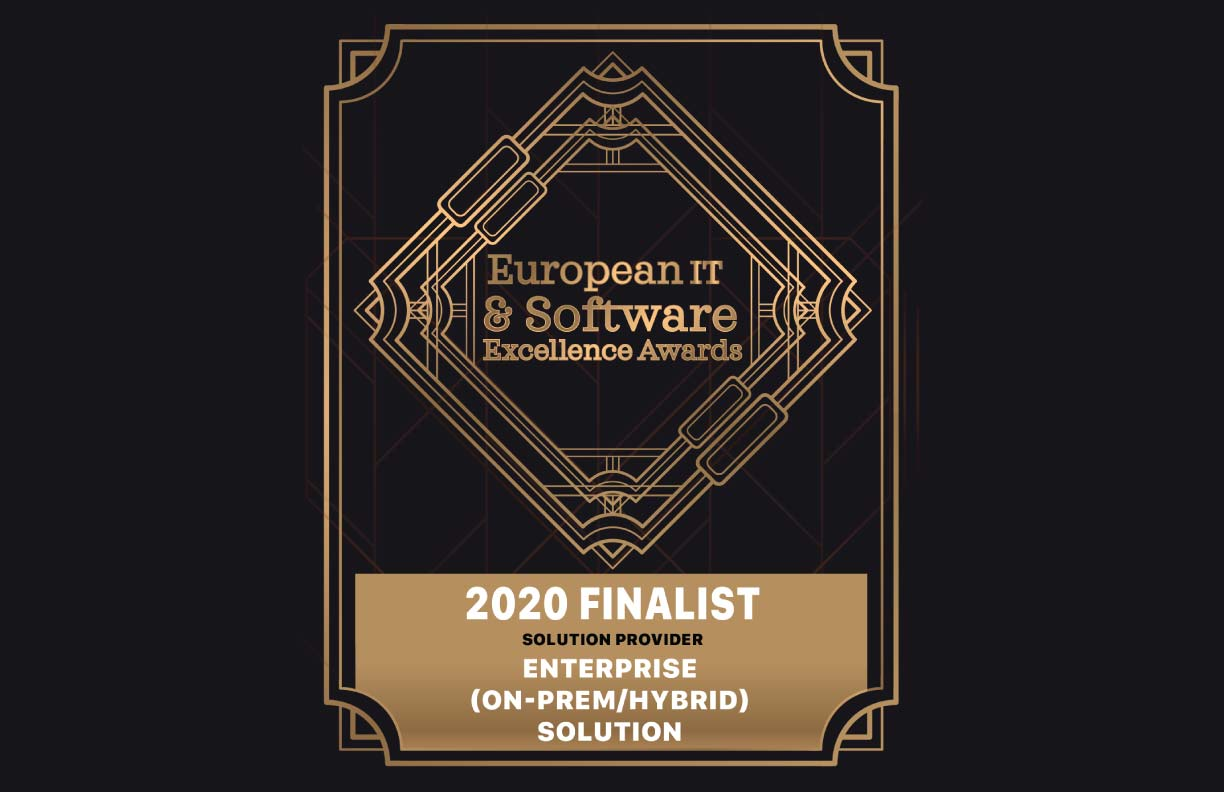 Seavus as a finalist for the European IT & Software Excellence Awards 2020